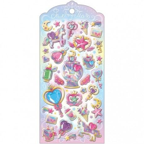 Jewelry Tiara Unicorn Magic Stickers