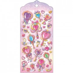 Pegatinas Jewelry Tiara Heart Wands