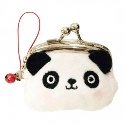 Mini Porta-Moedas Panda Kiss Lock