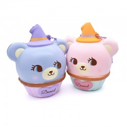 Hug Me! Halloween Bear Cupcake Squishy