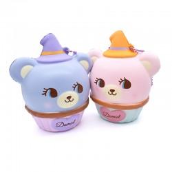 Squishy Hug Me! Halloween Bear Cupcake