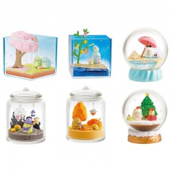 Re-Ment Sumikko Gurashi 4 Seasons Terrarium