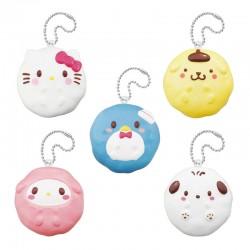 Sanrio Characters Mini Donut Squishy Gashapon