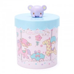 Little Twin Stars Topper Canister