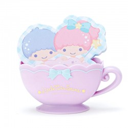 Bloco Notas Die-Cut Little Twin Stars Teacup