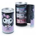 Soda Can Kuromi Washi Tapes Set