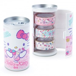 Set Washi Tapes Soda Can Hello Kitty