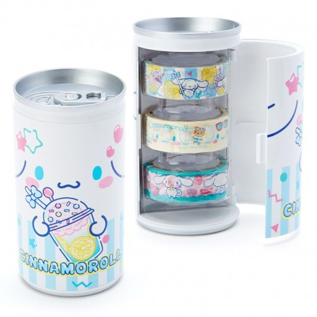 Soda Can Cinnamoroll Washi Tapes Set