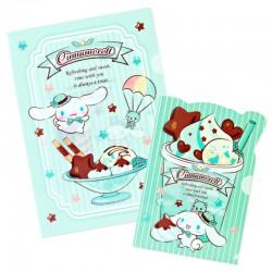 Set Carpetas Chocolate Mint Cinnamoroll