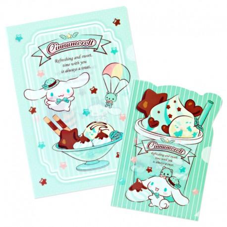 Cinnamoroll Chocolate Mint File Folders Set