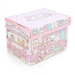 My Melody Candy Shop Truck Foldable Storage Box