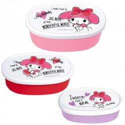My Melody Wonderful World Snack Boxes Set
