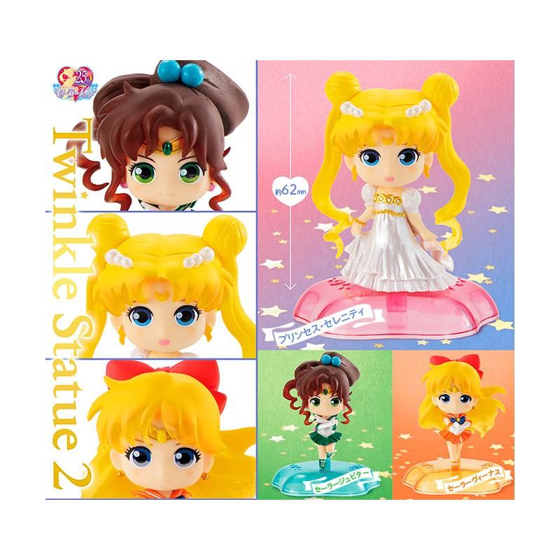 Sailor Moon Twinkle Statue 2 Mini Figure Gashapon