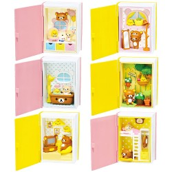 Re-Ment Rilakkuma Happy Little Book