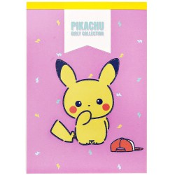 Bloco Notas Pikachu Girly Collection