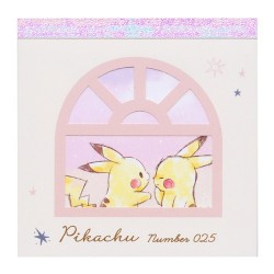 Pikachu Window Memo Pad