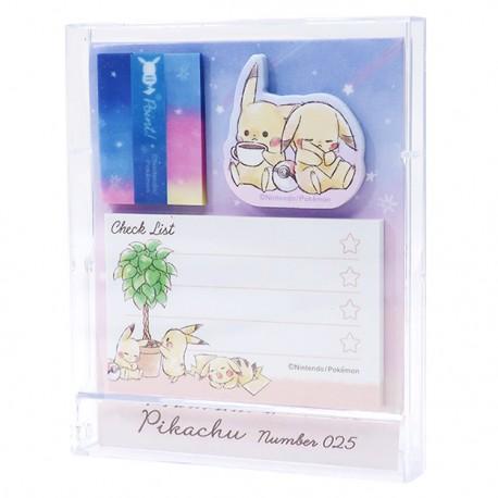 Pikachu Stand Fusen Sticky Notes