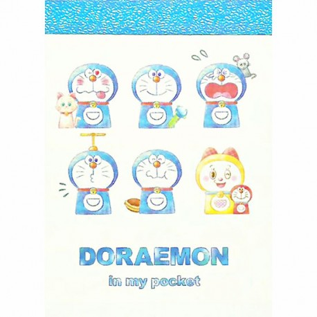 Mini Bloco Notas Doraemon In My Pocket