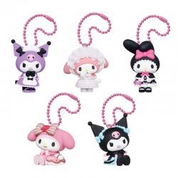 Colgante My Melody & Kuromi Sweet Lolita Gashapon