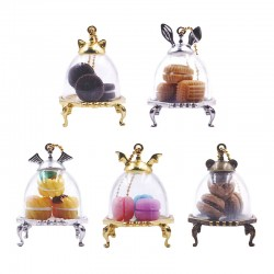 Colgante Animal Tea Party Gashapon