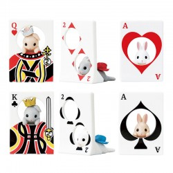 Rabbit Playing Cards Miniatures Gashapon