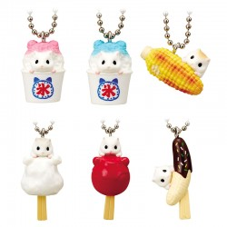 Japanese Street Food Ham Charm Gashapon