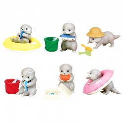 Kawauso Otter Water Play Miniatures Gashapon