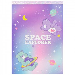 Bloco Notas Care Bears Space Explorer