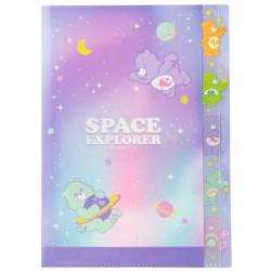 Care Bears Space Explorer Index File Folder