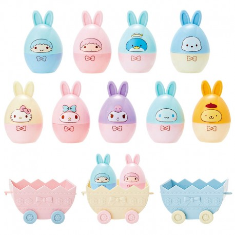 Sanrio Characters Easter Bunny Egg Stamps Set