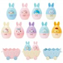 Sanrio Characters Easter Bunny Egg 2 Stamps Set