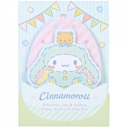 Notas Adhesivas Die-Cut Cinnamoroll Easter Bunny