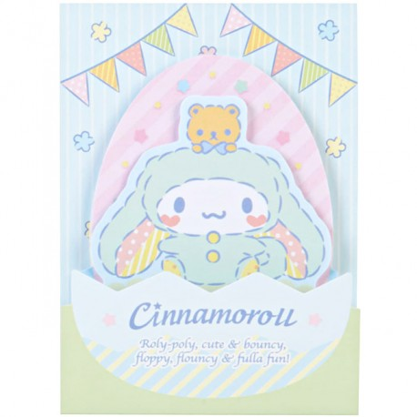 Cinnamoroll Easter Bunny Die-Cut Sticky Notes