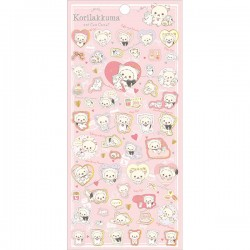 Korilakkuma Neko & Cute Cats Stickers