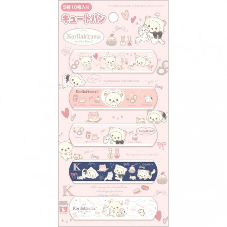 Korilakkuma Neko & Cute Cats Bandages