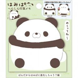 Notas Adhesivas Die-Cut Hamipa Panda