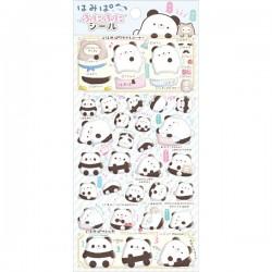 Hamipa Panda Puffy Stickers