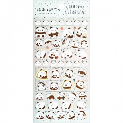 Stickers Colorful Clear Hamipa