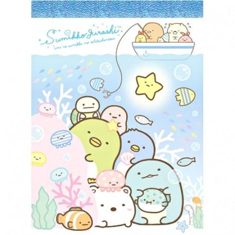 Sumikko Gurashi Sea Life Mini Memo Pad