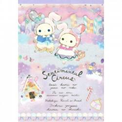 Bloco Notas Sentimental Circus Hansel & Gretel