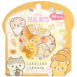 Bolsa Pegatinas Seal Bits Corocoro Coronya Bread