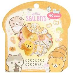 Saco Stickers Seal Bits Corocoro Coronya Bread