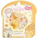 Corocoro Coronya Bread Seal Bits Stickers Sack