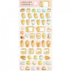 Corocoro Coronya Bakery Puffy Stickers