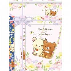 Korilakkuma Meets Chairoikoguma Floral Letter Set