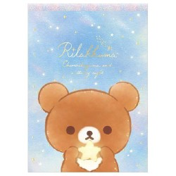 Bloco Notas Rilakkuma Starry Night