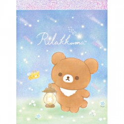 Chairoikoguma Starry Night Mini Memo Pad