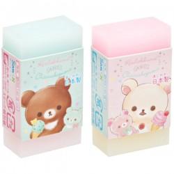 Korilakkuma Happy Ice Cream Duo Eraser