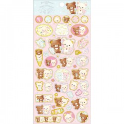 Korilakkuma Happy Ice Cream Stickers