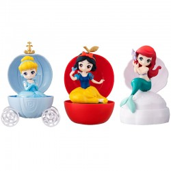 Disney Princess Heroine Doll Stories Capchara Figure Gashapon